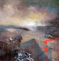 Ölmalerei, Blut, Matadors, Kraft