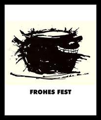 2013, Fest, Mischtechnik,