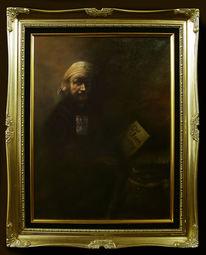 Selbstportrait, Rembrandt, Retro, Realismus
