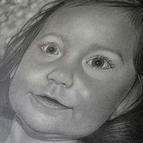 Realismus, Babyface, Bleistiftzeichnung, Zeichnungen
