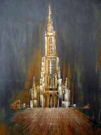 Ulm, Ulmer münster, Malerei, Zeit