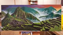 Kultur, Kalt, Peru, Landschaft