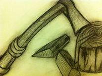 Zeichnungen, Holz