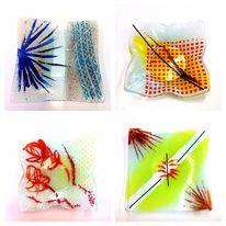 Glasschale, Modern, Glas, Schale