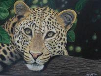 Tierzeichnung, Leopard, Zeichnungen, Wildtiere
