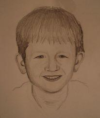Portrait, Kind, Zeichnungen