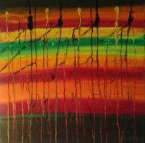 Acrylmalerei, Abstrakt, Malerei, Fluss
