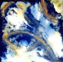 Ocker, Wolken himmel, Unendlichkeit, Fantasie