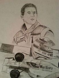 Portrait, Rennen, Formel, Auto