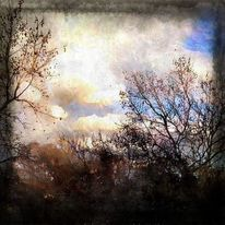 Fotografie, Abendstimmung, Realität, Wolken