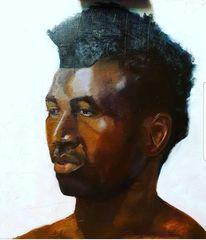 Mann, Haut, Gesicht, Menschen