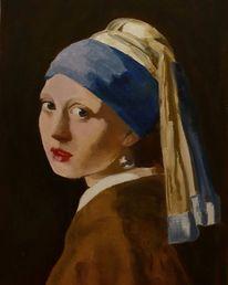Mädchen, Impressionismus, Klassisch, Portrait