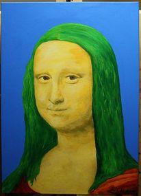Mona lisa, Malerei