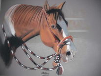 Pferde, Malerei