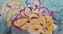 Garten, Acrylmalerei, Modern, Abstrakt