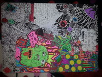 König, Surreal, Farbverlust, Zeichnungen
