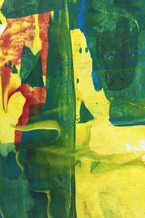 Landschaft, Fantasie, Grün, Malerei