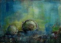 Kugel, Fantasie, Abstrakt, Malerei