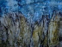 Abstrakt, Fantasie, Mischtechnik, Malerei