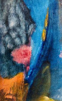 Postkarte, Serie, Abstrakt, Malerei