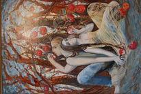 Malerei, Ölmalerei, Abstrakt, Impressionismus