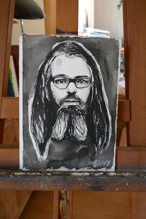Aquarellmalerei, Portrait, Aquarell,