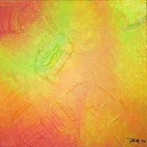 Strukturpaste, Primavera, Abstrakt, Acrylmalerei