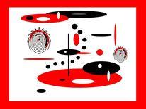 Fantasie, Ausgleich, Kreis, Weiß