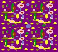 Formen, Bunt, Farben, Digitale kunst