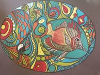 Fisch, Fantasie, Figur, Abstrakt
