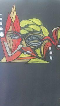 Kopf, Abstrakt, Augen, Rund