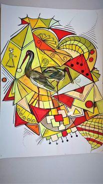 Abstrakt, Gestaltung, Fantasie, Bunt