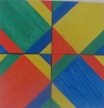 Formen, Rechteck, Farben, Malerei