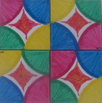 Farben, Formen, Kreis, Malerei