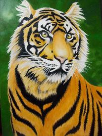 Tiger, Malerei