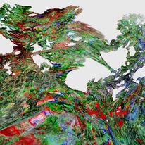 3d, Fraktalkunst, Mandelbulb, Digital