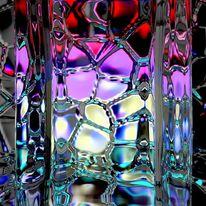 Lichtbrechung, 3d, Blender, Digitale kunst