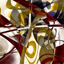 Digital, Abstrakt, Fraktalkunst, Digitale kunst