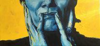 Frau, Expressionismus, Finger, Ölmalerei