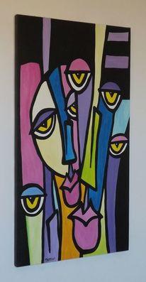 Dekorative kunstwerk, Moderne kunst gemälde, Moderne kunst, Schlafzimmer dekoration