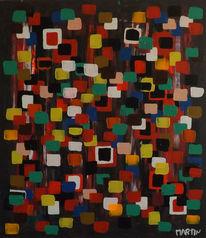 Leinenöl, Abstrakte kunst, Expressionistische kunst, Wettbewerb