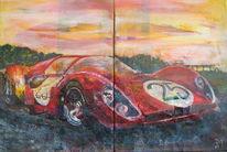 Ferrari, Retro, Klassiker, Rennwagen