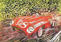 Retro, Cabrio, Klassiker, Ferrari