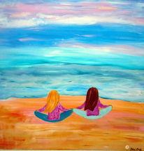 Wasser, Ausspannen, Traum, Meditation