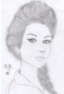 Zeichnung, Bleistiftzeichnung, Zeichnungen, Stil
