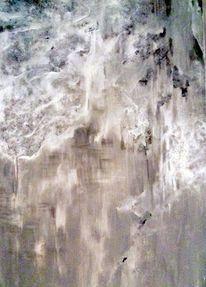 Kalt, Stille, Acrylmalerei, Traurigkeit