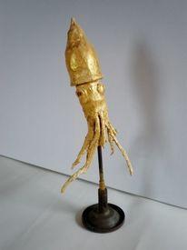 Tintenfisch, Skulptur, Figur, Krake