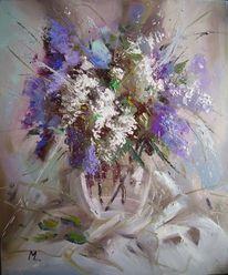 Blumen, Licht, Frühling, Malerei
