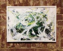 Zeichnung, Licht, Abstrakt, Malerei