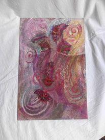 Acrylfarben, Universum, Fließen, Zeitgeist